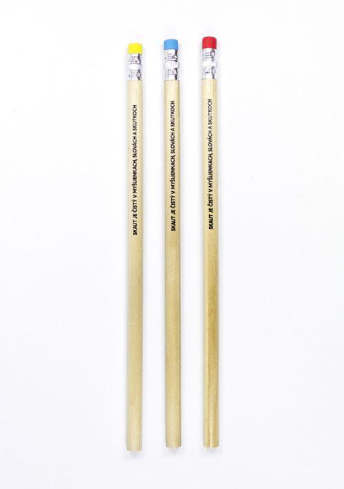 Ceruzka Skaut je čistý v myšlienkach, slovách a skutkoch