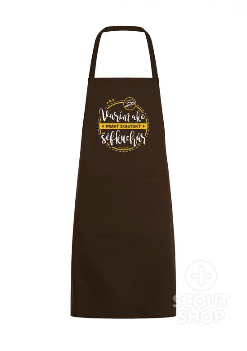 Kuchárska zástera Varím ako pravý skautský šéfkuchár