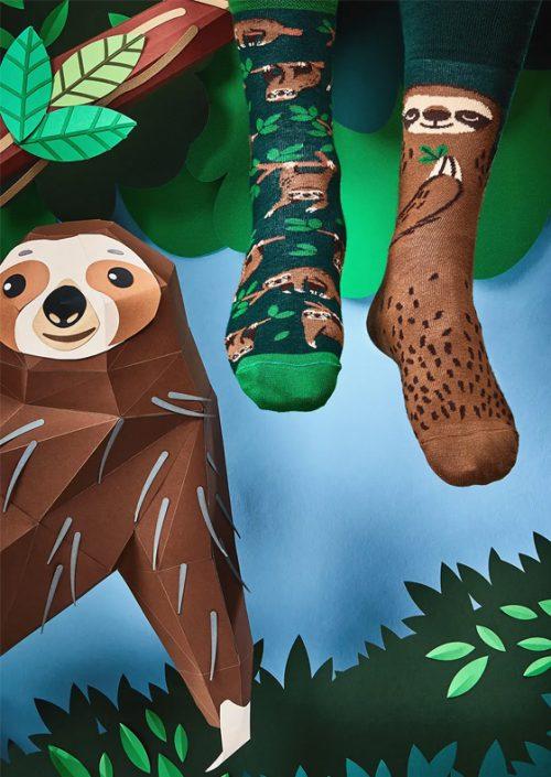 Ponožky Leňoch - Sloth Life by Many Mornings